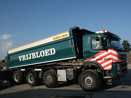 Vrachtwagen Kipper